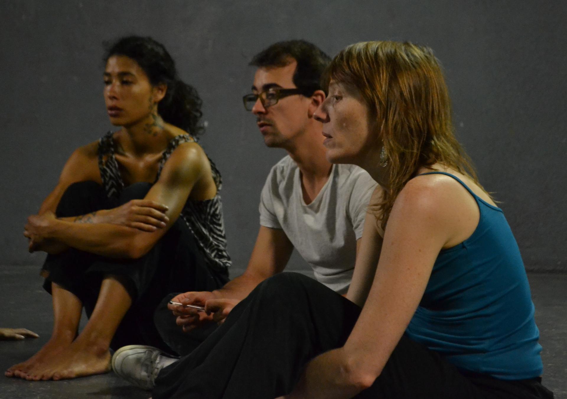 Cassandre Muñoz, Vincent Dufour & Estelle Richir