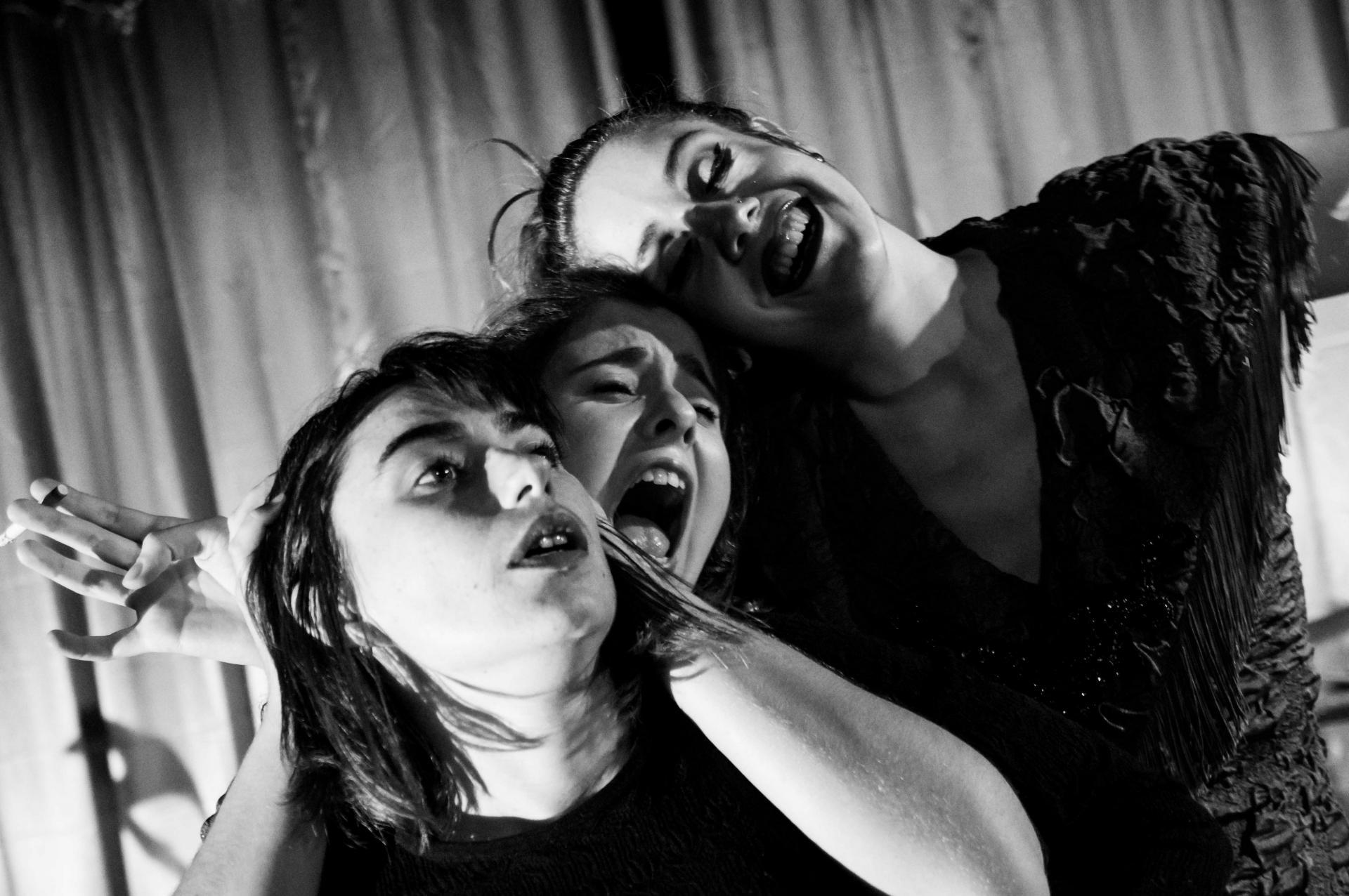 Laurie Montamat, Charlotte Piarulli et Mélissa Ocaña