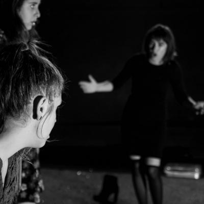 Mélissa Ocaña, Charlotte Piarulli et Laurie Montamat